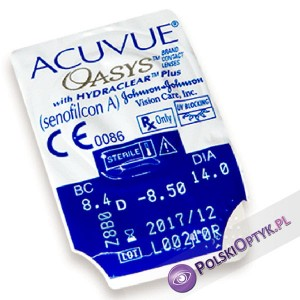 Acuvue Oasys Hydraclear Plus 1 szt.