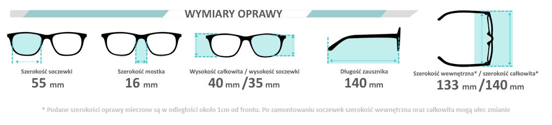 f80b34d21393 Oprawki plastikowe Mezzo 20084 D   - Polski Optyk